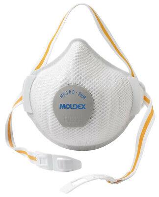 1x MOLDEX 3408 R D FFP3 Atemschutzmaske mit Ventil Mundschutz Wiederverwendbar