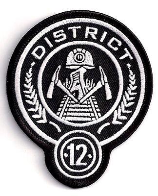 District 12 HUNGER GAMES  Logo - Uniform Patch  Aufnäher