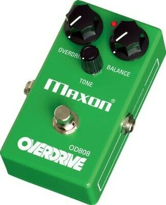 Maxon OD808 Reissue Series Overdrive Guitar Effects Pedal New F/S