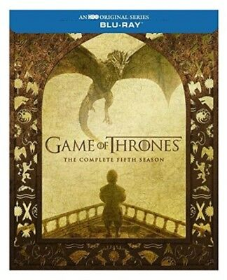 Game Of Thrones  Season 5  Blu Ray   Fifth 2016 Brand New Sealed