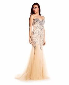Brand New with Tags Ruby Prom/ Evening Nude Lola dress Size 10