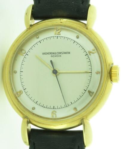 Vacheron & Constantin Vintage SOLID 18K Gold 32mm Mechanical Winding Watch $1NR! - watch picture 1