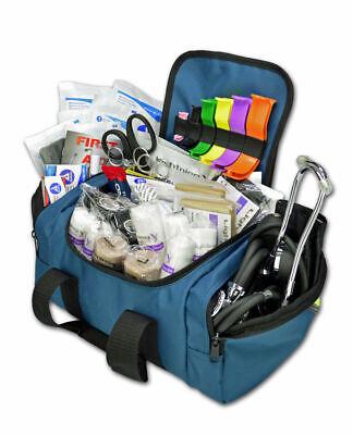 Lightning X Value Compact Medic First Responder EMS/EMT Stocked Trauma Bag w/Sta