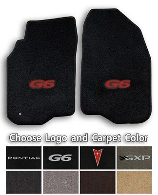 Pontiac G6 Colors (Pontiac G6 2pc Classic Loop Carpet Front Floor Mats - Choose Color &)