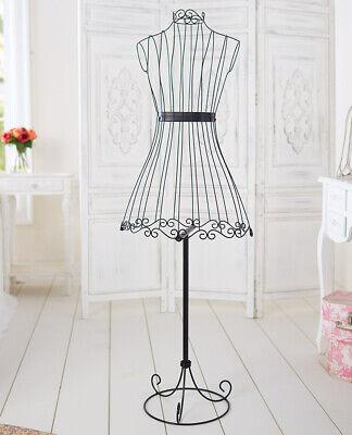 Vintage Metal Wire Dress Form Mannequin Boutique Display New