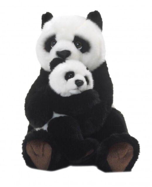 Znalezione obrazy dla zapytania wwf panda with baby plush