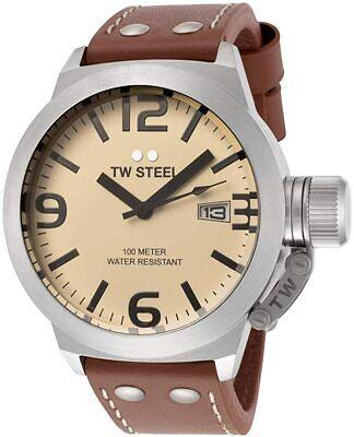 NEW TW Steel Canteen Men's Quartz Watch - TW1
