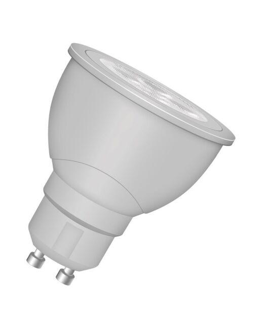 Osram LED STAR PAR16 65 36° LED GU10 Strahler warmweiß wie 65W 27000K