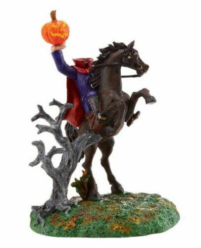 Dept 56 THE HEADLESS HORSEMAN Halloween Village Accessory 4020240 DEALER STOCK