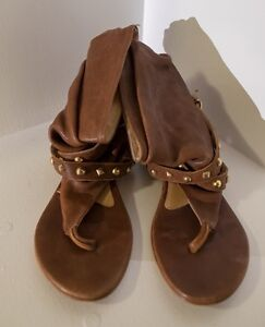 Italian genuine leather sandals. Worn once. Size 7 Paddington Eastern Suburbs Preview