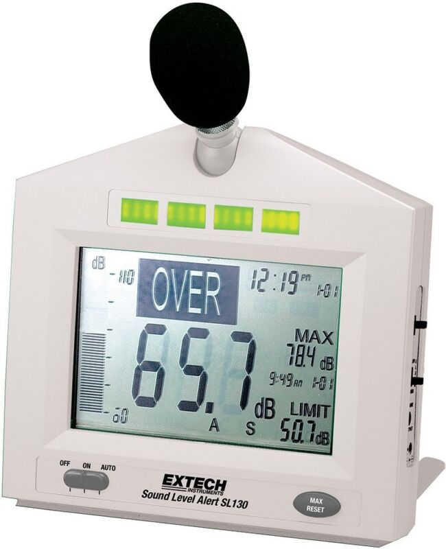 Extech SL130W Sound Level Alert with Alarm Sound Level Alert+Alarm