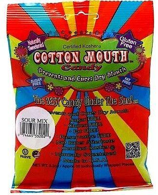 Cotton Mouth Candy Sour Mix Bag 3.3 oz