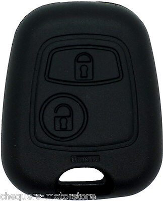 Fits Peugeot & Citroen 2 Button 206 C1 Remote Key Fob Case replacement shell