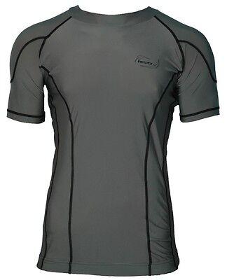 Uv Rash Shirt (Herren Lycra Surf-Shirt Rash Guard Thermoshirt UV-Shirt UV-Schutz kurzarm)