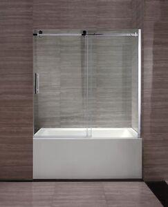 Ecran de bain et porte de douche Moderne au look raffiner ...