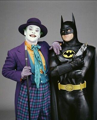 JACK NICHOLSON MICHAEL KEATON BATMAN & JOKER 8X10 GLOSSY PHOTO PICTURE