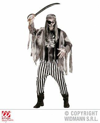 Herren-Kostüm Geisterschiff-Pirat Halloween Zombie Piratenkostüm Horror - Pirat Kostüm Herren Halloween