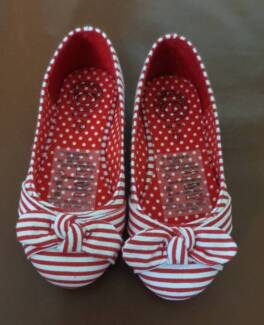 Little Girl Ballet Canvas Shoes (Size 10) - $15 (Brand New)