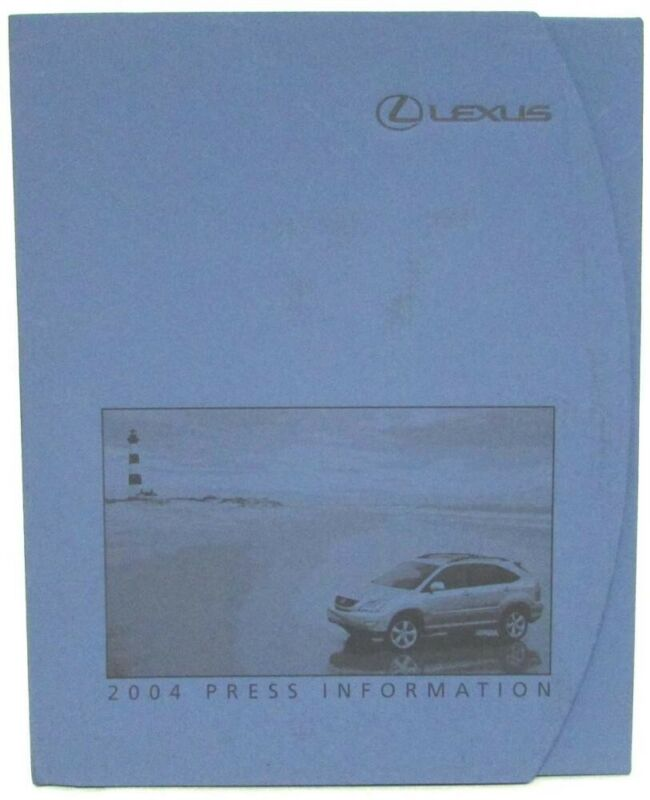 2004 Lexus Full Line Detroit Auto Show Press Kit