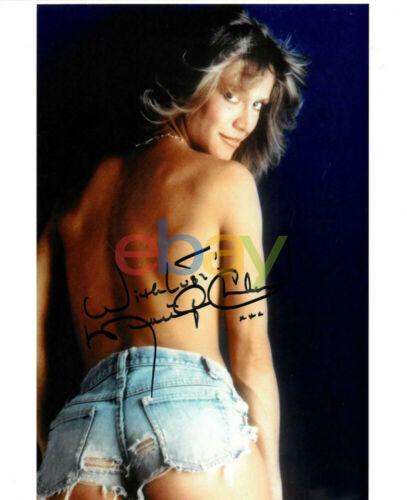 Marilyn Chambers Signed Autographed 8x10 Photo reprint