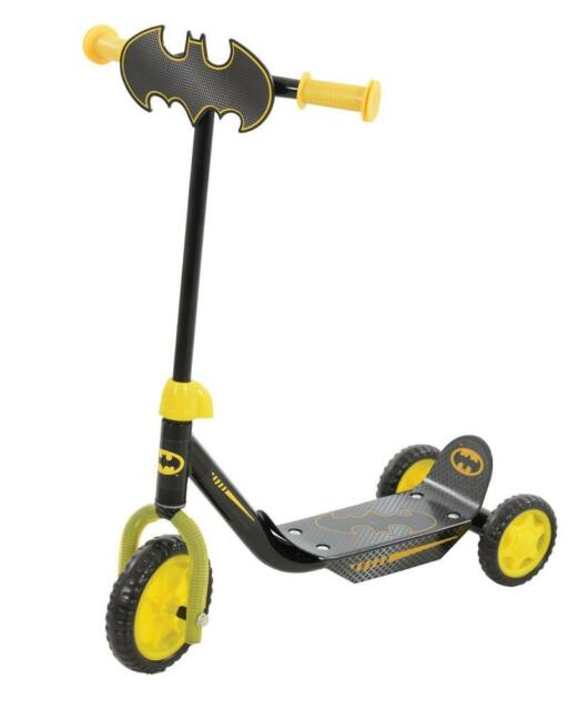 New Batman My First Tri-Scooter Push Ride-On Scooter Suitable for Kids 3 Years +