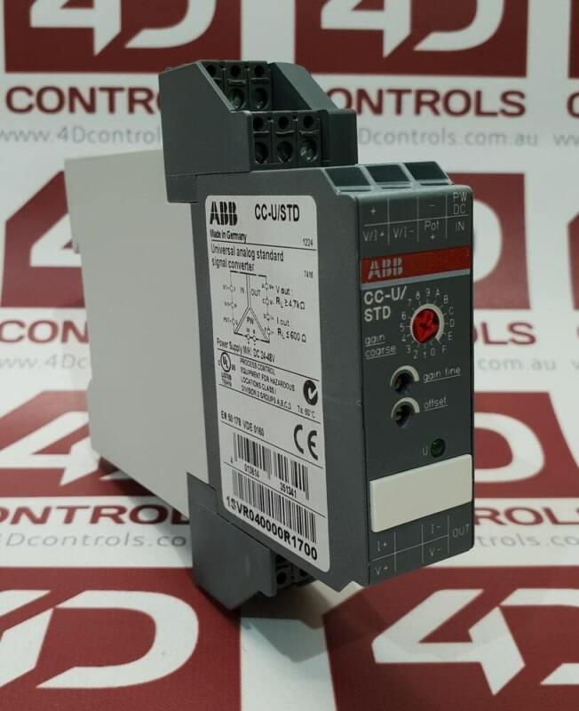 1SVR040000R1700   ABB   Universal Analog Signal Converter, Used