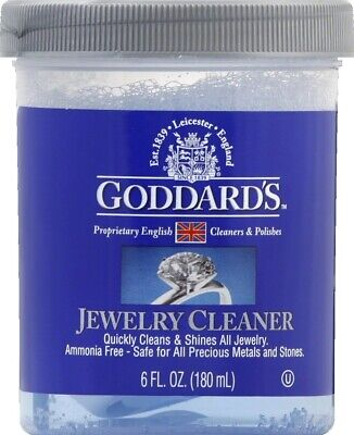 Fast Jewelry Cleaner 6 oz.Solution Quick Shine Formula Gentl