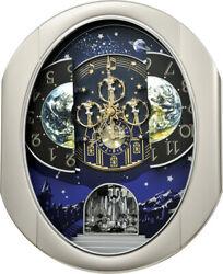 Rhythm Clocks Peaceful Cosmos II Magic Motion Clock (4MH408WU19)