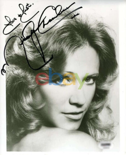 Marlyn Chambers Signed 8x10 Photo Autographed reprint