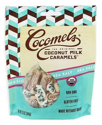 Jjs Sweets Cocomels Original Organic Coconut Milk Caramels Sea Salt   3 5 Oz
