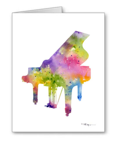 PIANO Note Cards With Envelopes
