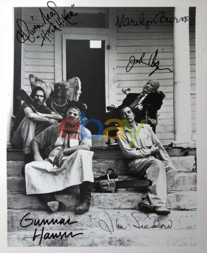 Texas Chainsaw Massacre Autographed 8x10 Signed Photo reprint