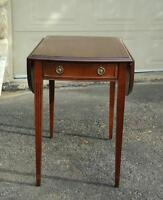 Occasional Side, End Table with Addition
