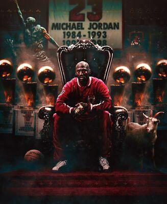 MICHAEL JORDAN POSTER NBA Basketball Sports Poster 24 x 32 inch NEW 8