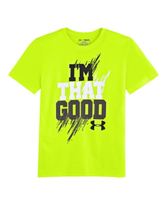 Youth under armour shirts m ebay for Under armour swim shirt youth