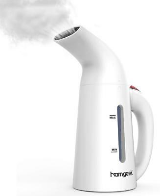 homgeek Clothes Steamer for Clothes, Portable Travel Garment Steamers Iron for