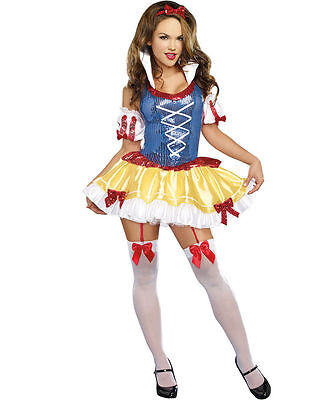 Snow White Feisty in the Forest Adult Women Costume (Snow White Women Costume)