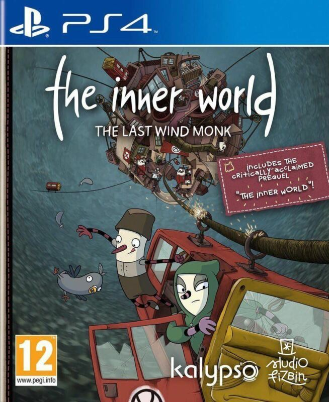PS4+THE+INNER+WORLD+The+Last+Wind+Monk+NEW+SEALED+Game+%2A