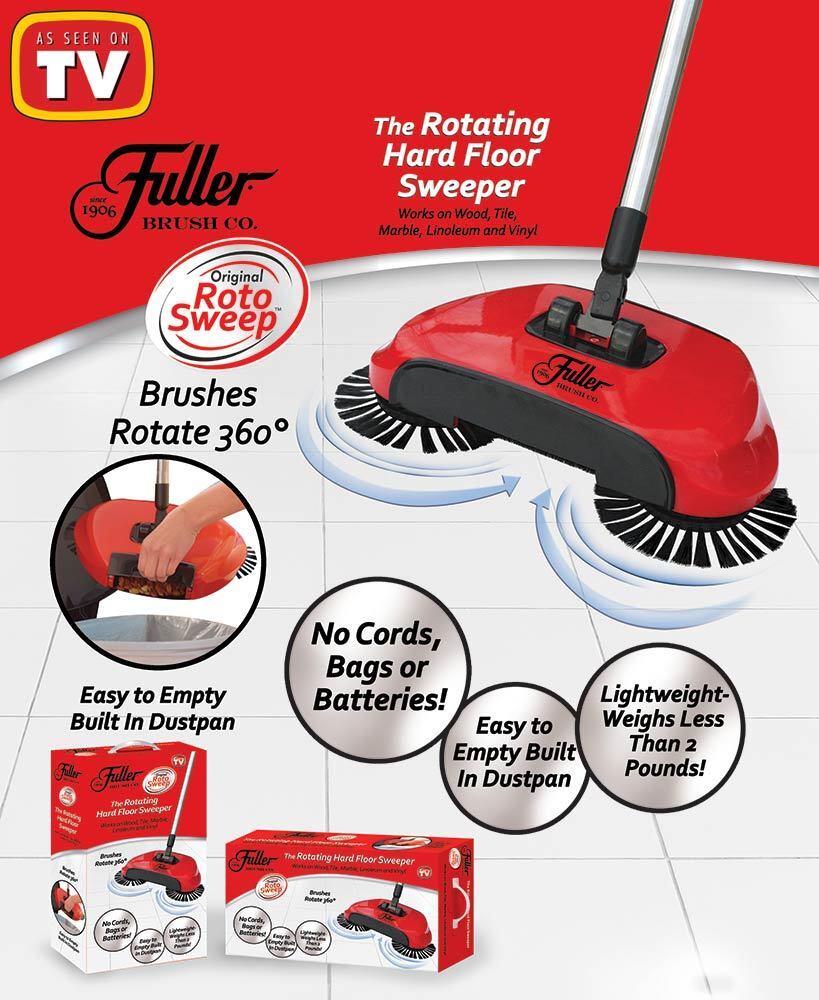 Fuller Original Roto Sweep As Seen On Tv Magic Spinning Broo