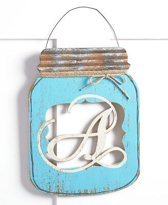 MASON JAR DOOR HANGERS`DECORATIVE COUNTRY ACCENT HANGING OUTDOOR HOME DECOR