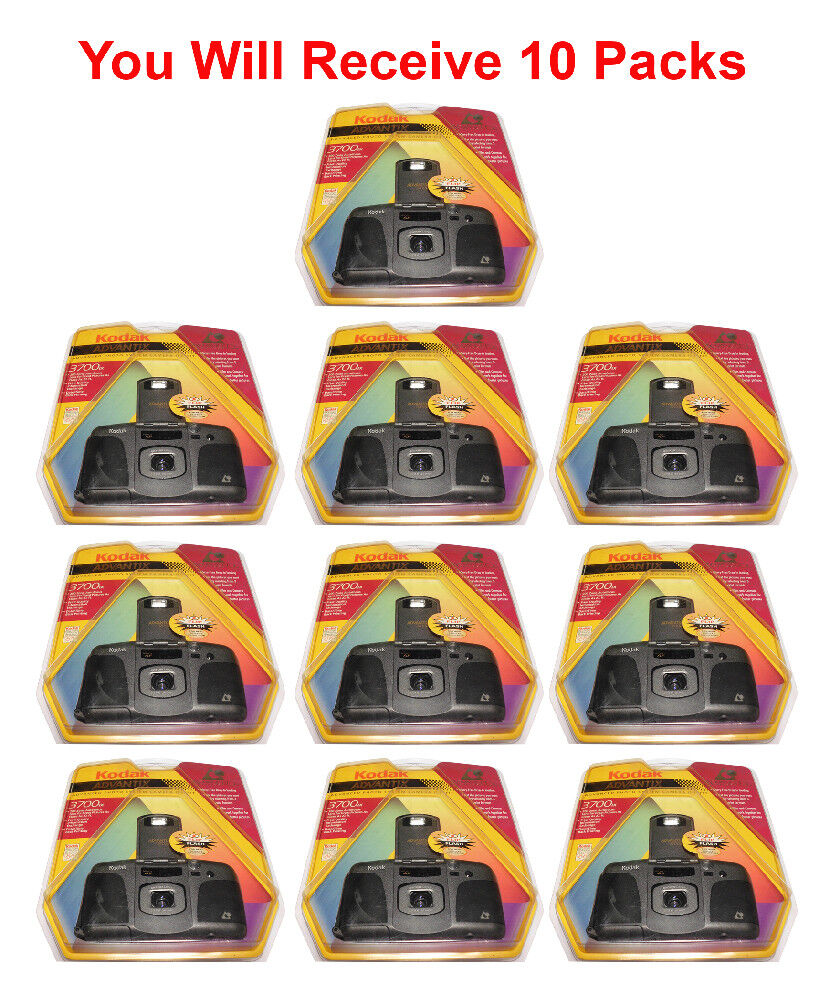 как выглядит 10-Pack Kodak Advantix 3700IX APS Film Camera Advanced Photo System Flash Date фото