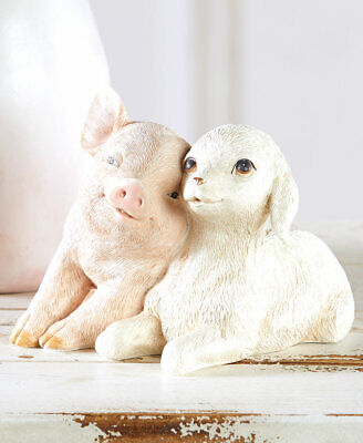 Sweet Loving Baby Farm Animals Sheep Lamb ...