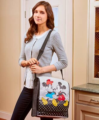Minnie Mouse Ideas (DISNEY MICKEY & MINNIE MOUSE MESSENGER BAG ~  ADORABLE! ~ GIFT IDEA ~)