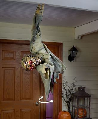 Hanging Halloween Sound & Motion Zombie Arm moves in Circular Motion SOLD OUT - Zombie Halloween Sounds
