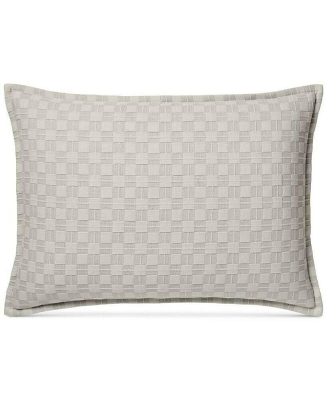 Hotel Collection Diamond Embroidered Quilted King Sham