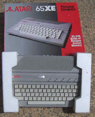65XE Atari Computer 64K RAM New NTSC US Compatible from Atari MEXICO
