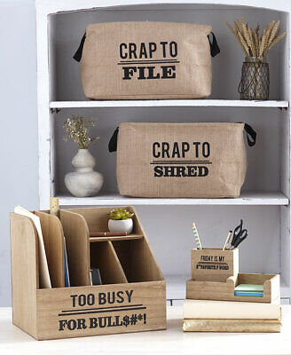 Fun Humorous Office Organizers for Home Office Students Kitchen MULTI DISCOUNT - Fun Office