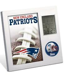 NFL FOOTBALL NEW ENGLAND PATRIOTS Digital Desk Clock Office Home Decor