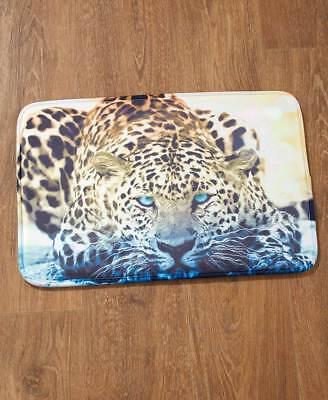 Leopard Bath Rugs - Photo Real Wild Jungle Tiger Bath Rug Safari Leopard Animal Memory Foam Bath Rug