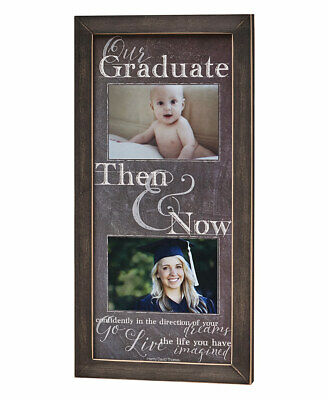 Then and Now Graduation Frame -
